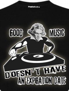 Tričko s potiskem DJ Beet Hoven