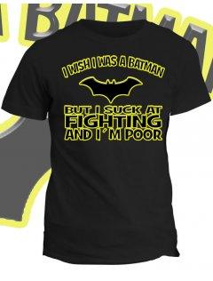 Tričko s potiskem Celou duší Batman