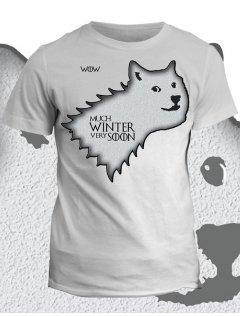 Tričko game of thrones Much Winter