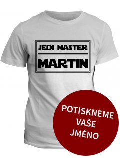 Tričko s potiskem Star Wars Jedi master