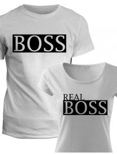 Trička pro páry Boss