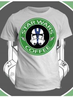 Tričko s potiskem Star Wars Coffee