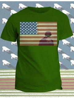 Tričko s potiskem Big Brother America