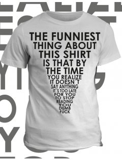 Tričko s potiskem Funny Shirt