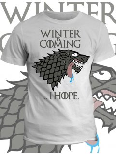Tričko game of thrones Winter is coming... i hope