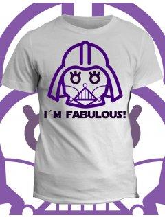 Tričko s potiskem I´m fabulous
