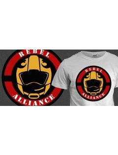 Tričko s potiskem Rebel Alliance