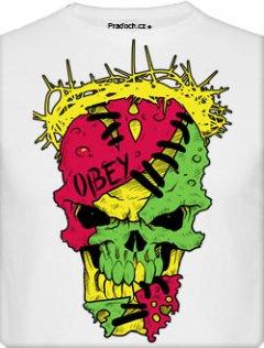 Tričko s potiskem Obey