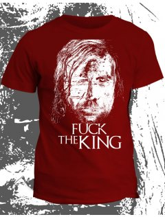 Tričko Game of Thrones - Fuck the king