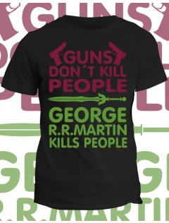 Tričko Game of Thrones - Guns dont kill people