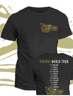 Tričko Vikingové - Vikings World Tour