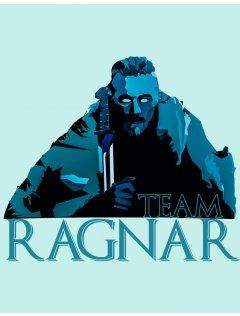 Tričko Vikingové - Team Ragnar Blue