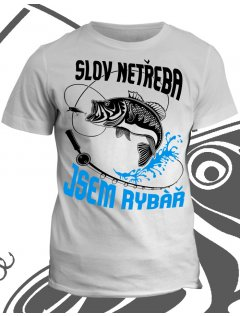 Profesní tričko Jsem rybář
