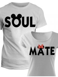 Trička pro páry Soul Mate