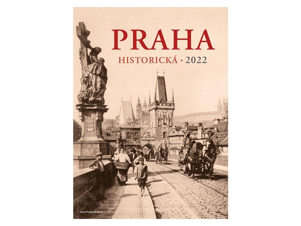 Prague historical 2022 Wall Calendar 1
