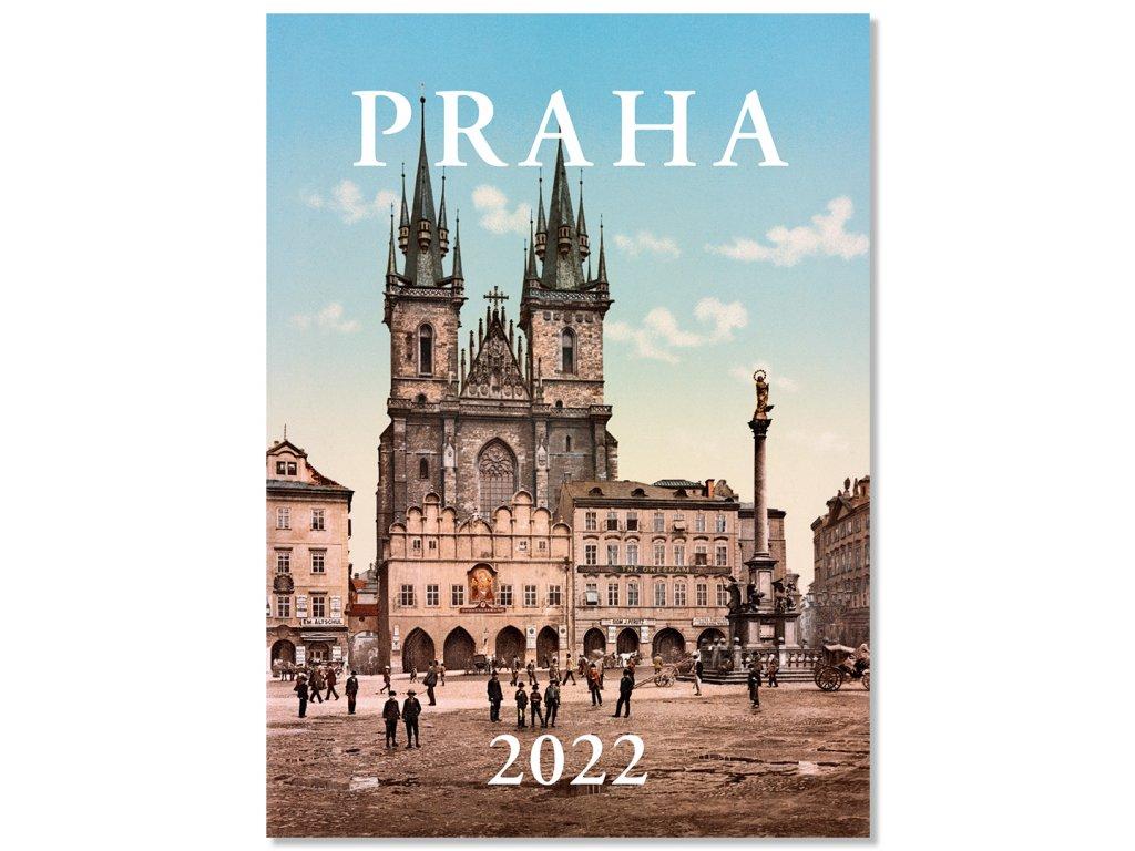 Prague historical 2022 Wall Calendar