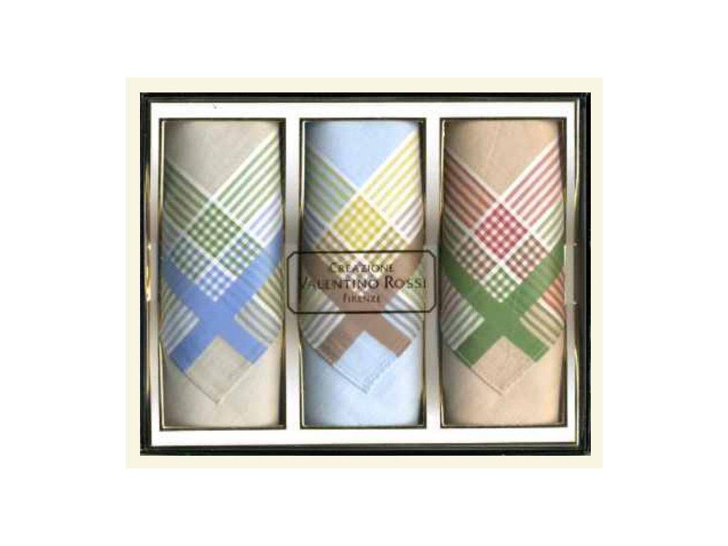 Pánský kapesník tkaný 3 ks Grant  5602