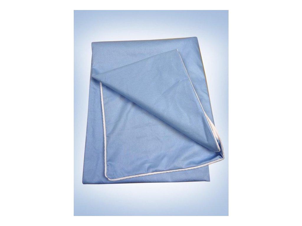 Sypek na peřinu 135/200 cm modrý