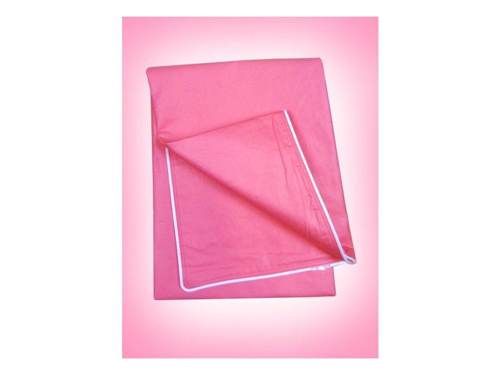 Sypek na peřinu 135/200 cm růžový
