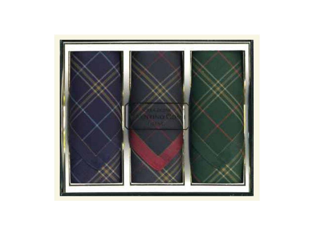Pánský kapesník tkaný 3 ks Grant  5603