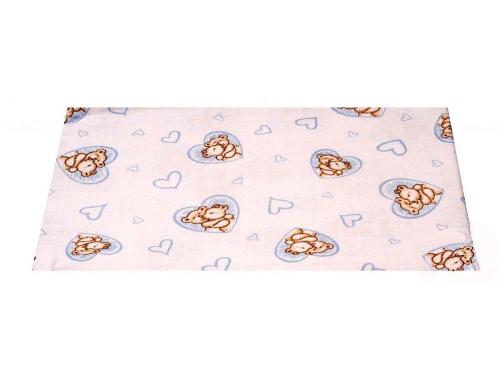 Dětská plena TEROSA - 90/100 cm bílá vzorovaná  141