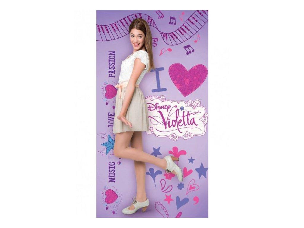 Dětská osuška Violetta 70/140 cm
