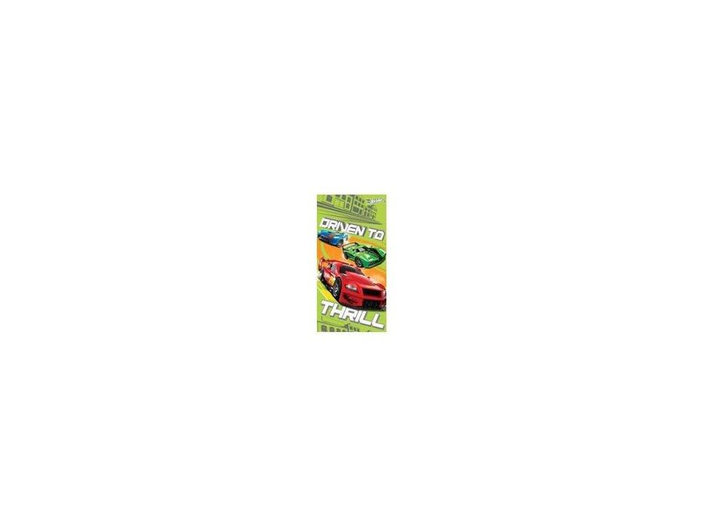 Dětská osuška Hot Wheels 70/140 cm