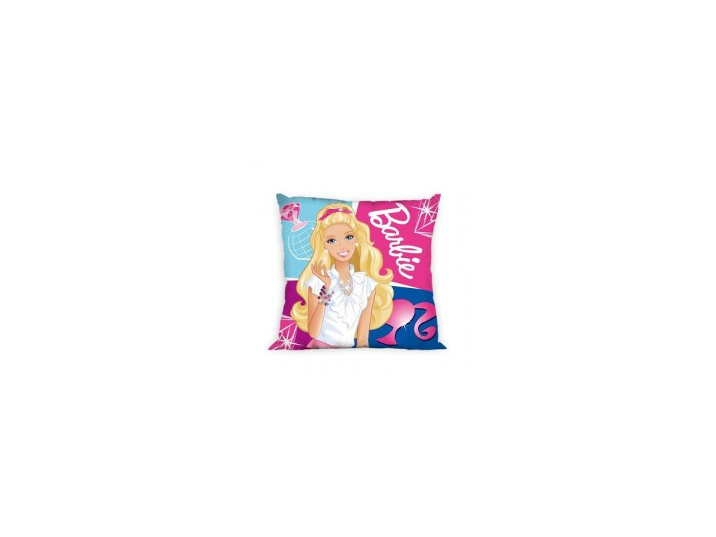Dětský povláček Disney 40/40 cm - Barbie s diamantem