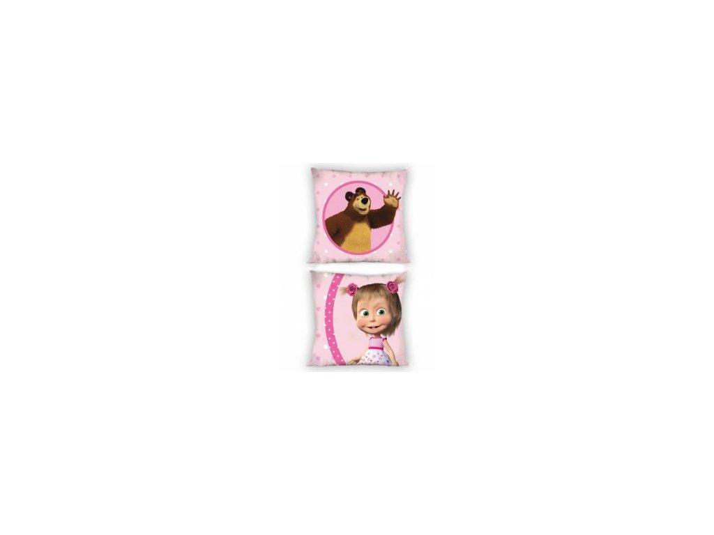 Dětský povláček Disney 40/40 cm - Máša a medvěd
