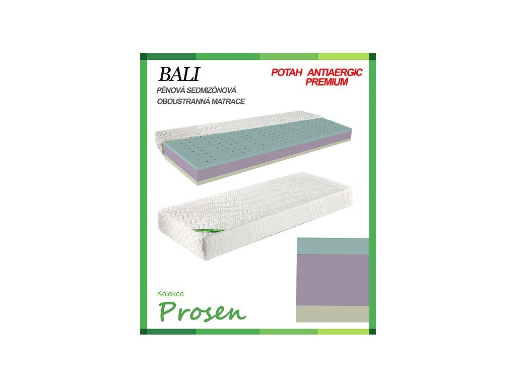 zdravotni matrace penova bali povlak anti allergic premium original