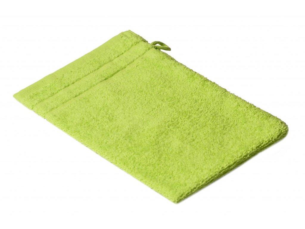 Zelená Froté žínka EMA 17/25 cm  4