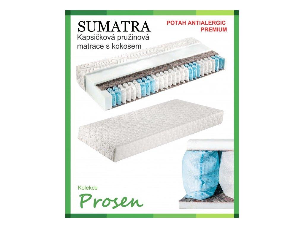 zdravotni matrace pruzinova sumatra potah anti allergic premium original