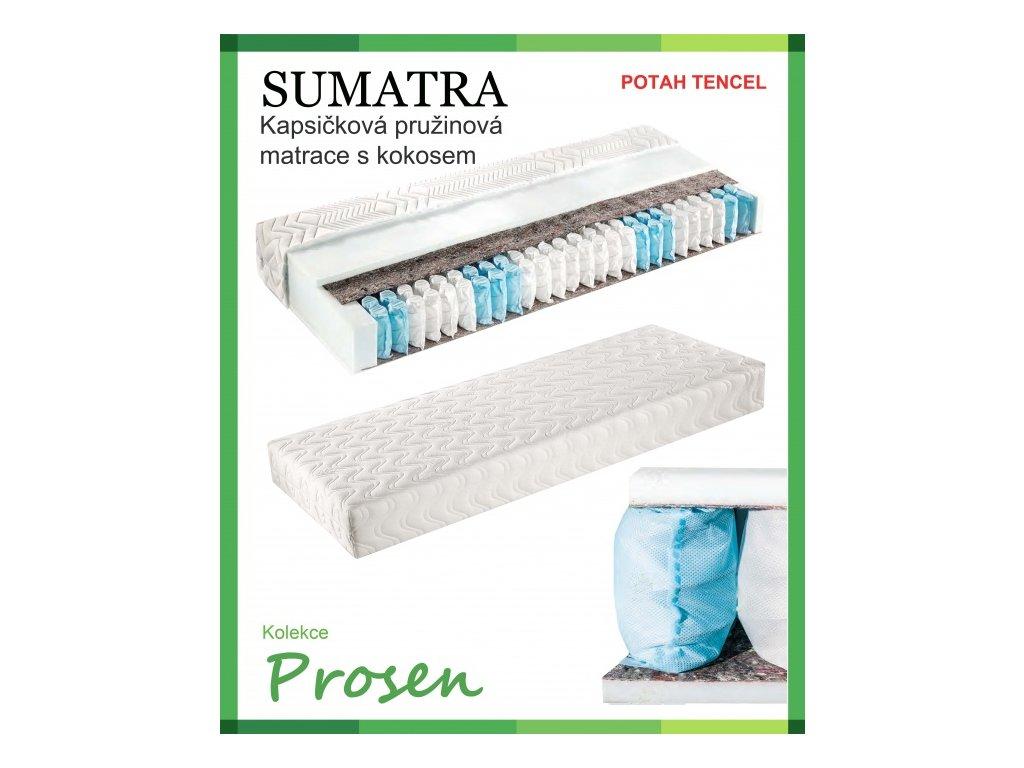 zdravotni matrace pruzinova sumatra potah tencell original