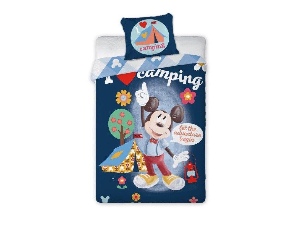 Mickey Camping