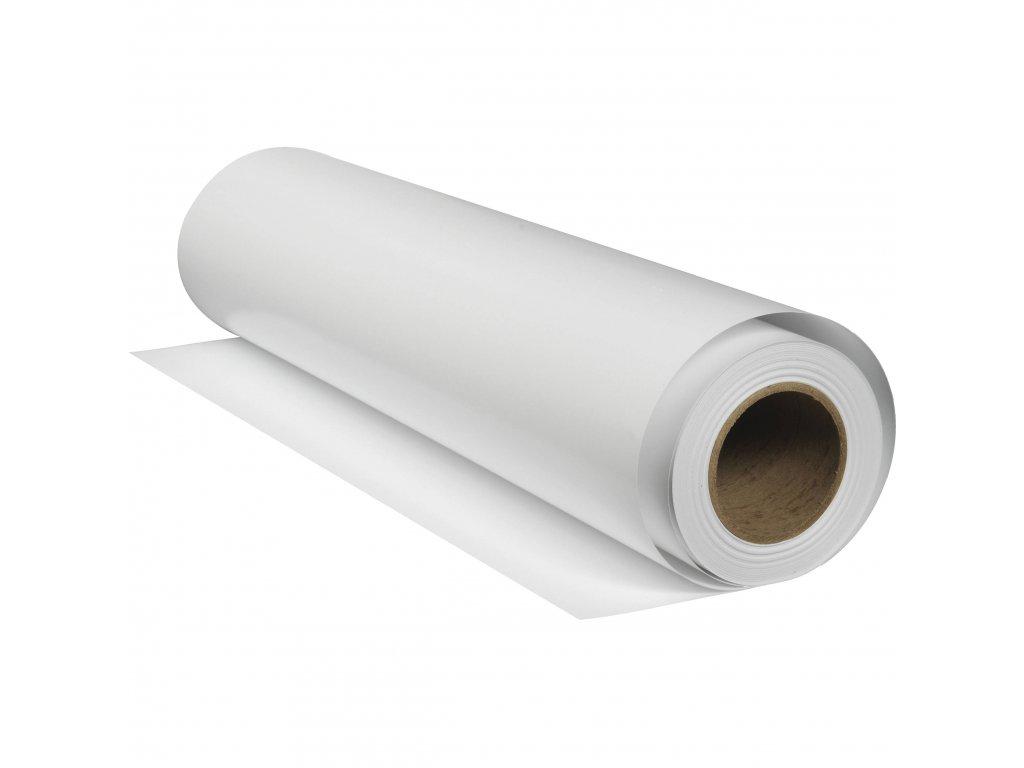 Metráž DOMINIC bílá  - šíře 142 cm