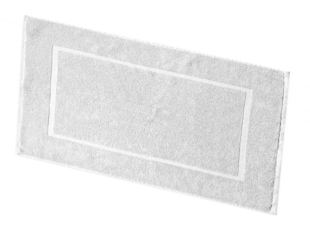 Koupelnová předložka froté - bílá
