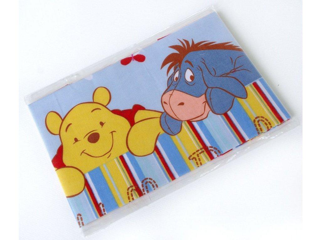 Dětský kapesník potisk 2 ks - Medvídek Pů