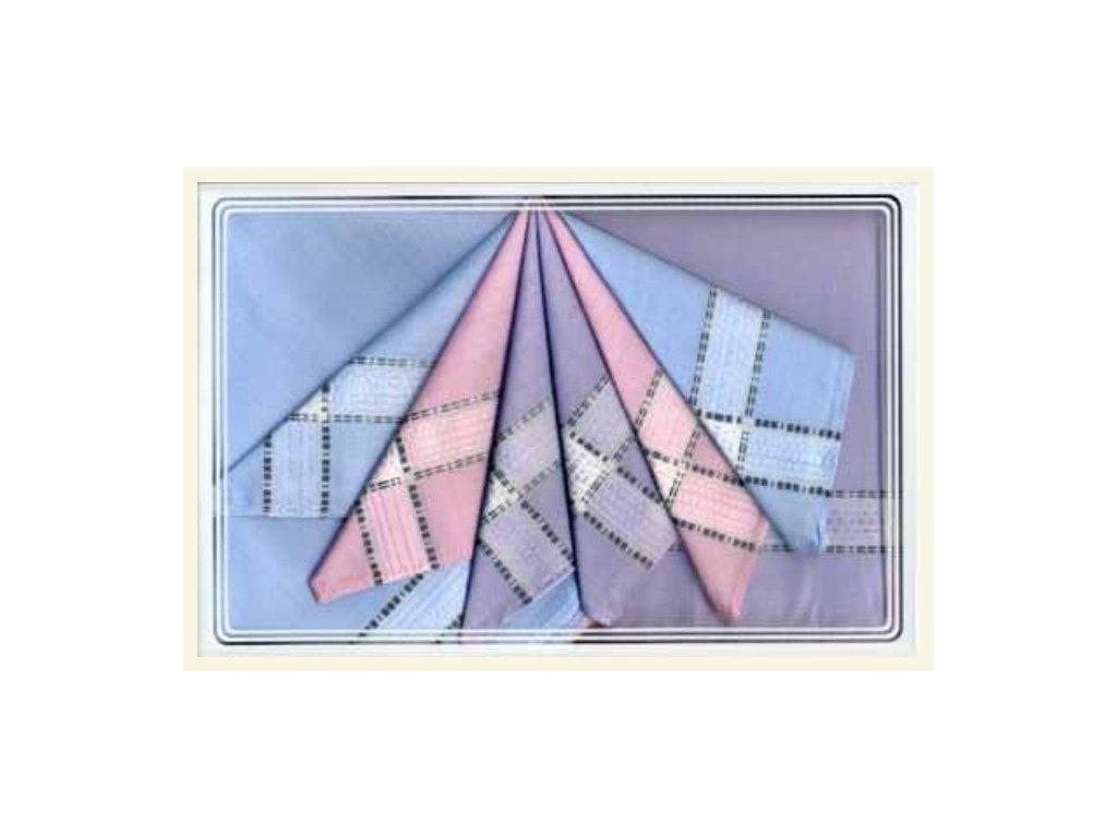 Dámský kapesník tkaný 6 ks Greta  21703