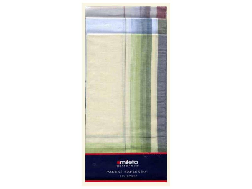 Pánský kapesník tkaný 6 ks Gere  1102