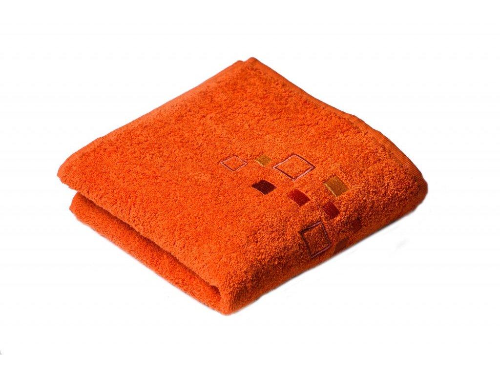 Terakotový Froté ručník DENIS 50/100 cm