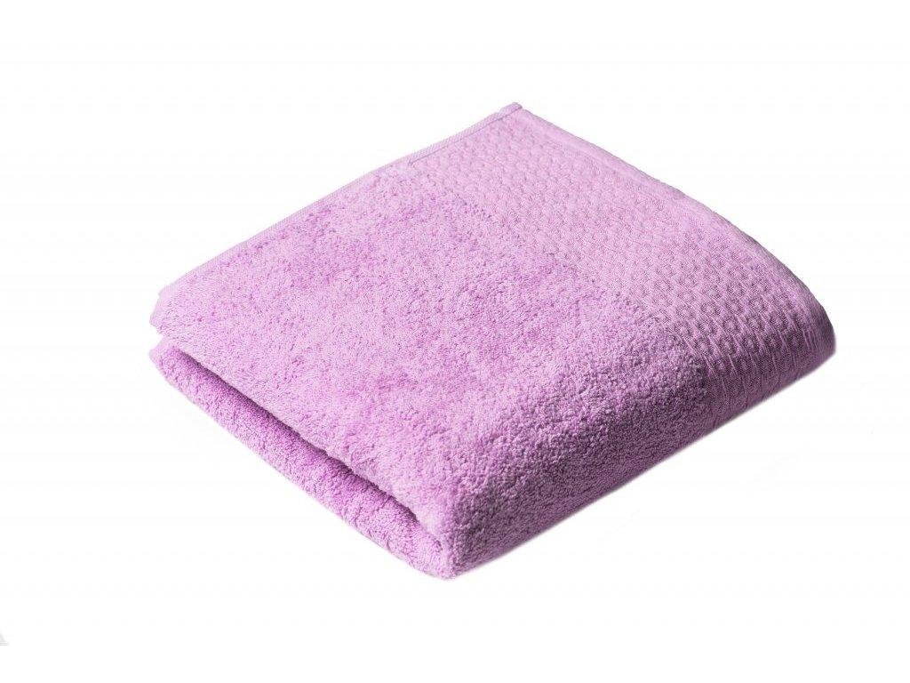 Fialový Froté ručník Marllin 50/100 cm