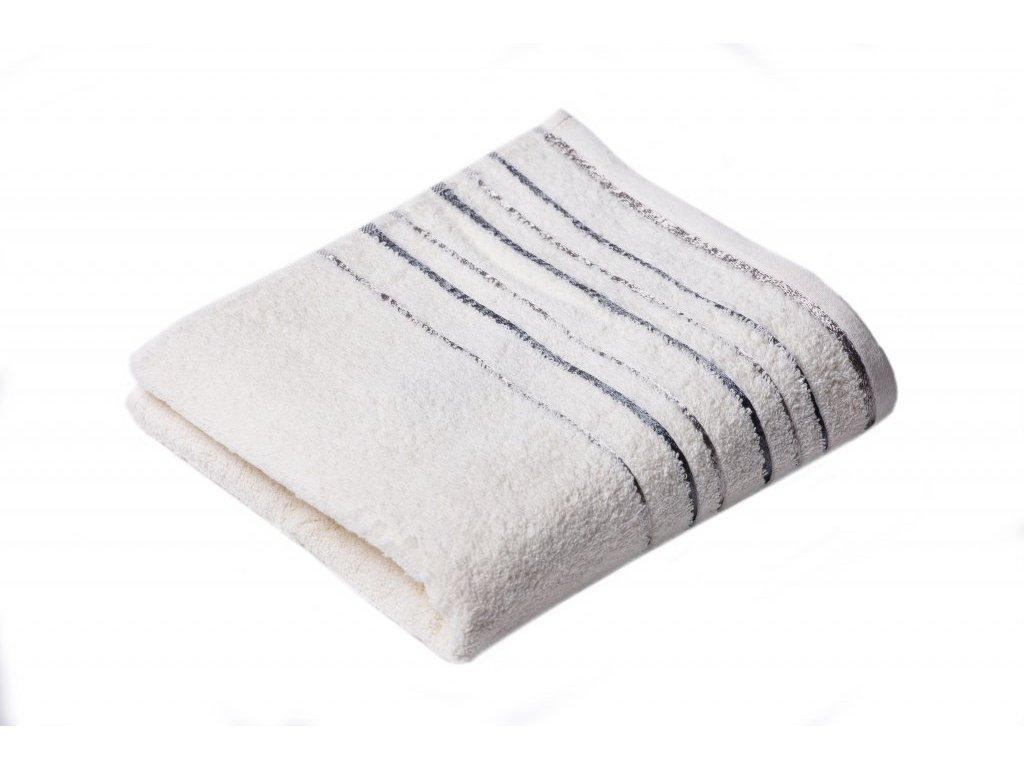 Máslový froté ručník Zara 50/100 cm