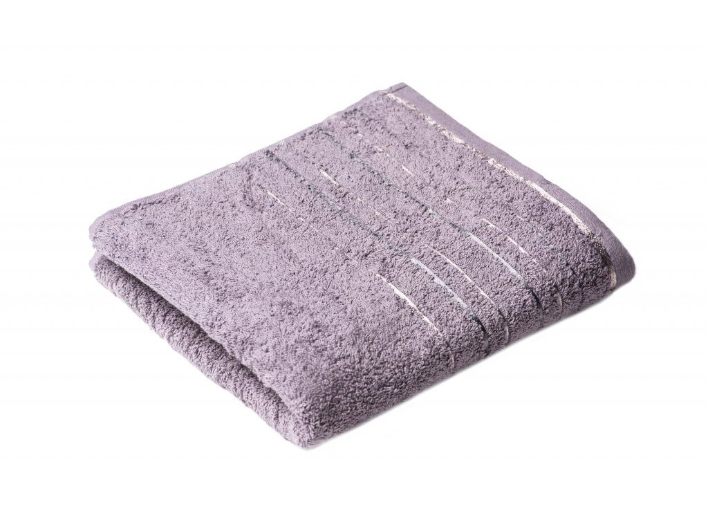 Šedý froté ručník Zara 50/100 cm