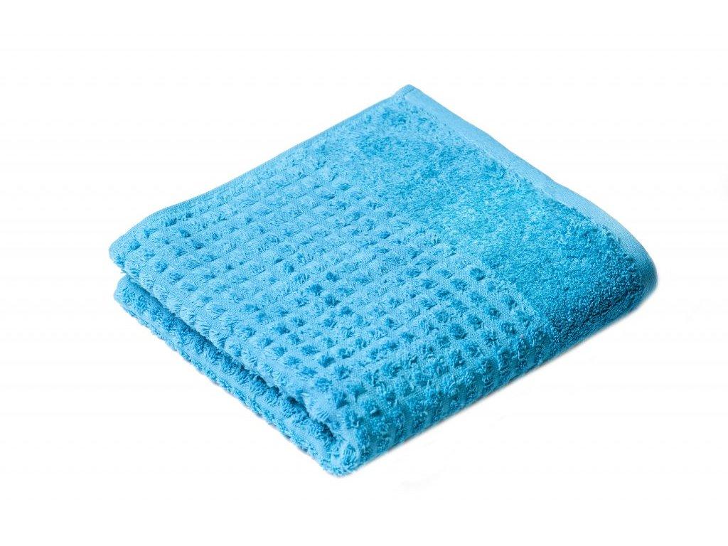 Tyrkysový Froté ručník Carin 50/100 cm