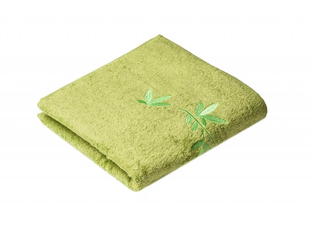 Zelený Froté ručník KONGO 50/100 cm