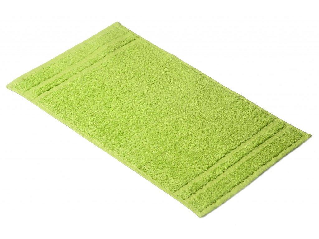 Světle zelený Froté ručník EMA 30/50 cm