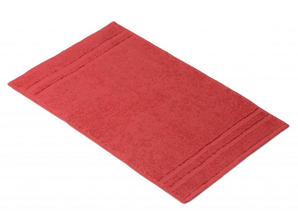 Červený Froté ručník EMA 30/50 cm