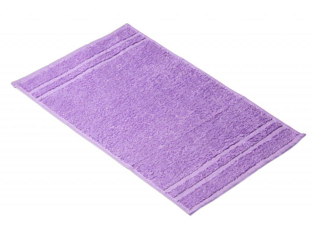 Fialový Froté ručník EMA 30/50 cm