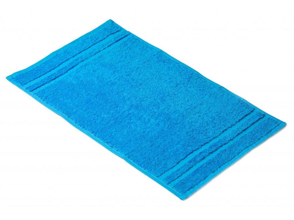 Tyrkysový Froté ručník EMA 30/50 cm