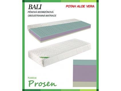 zdravotni matrace penova bali povlak aloe vera original